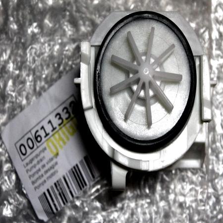 Насос сливной (помпа) для посудомоечной машины Bosch, Siemens 00611332 2