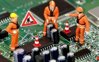 реомнт электронных модулей блоков управления